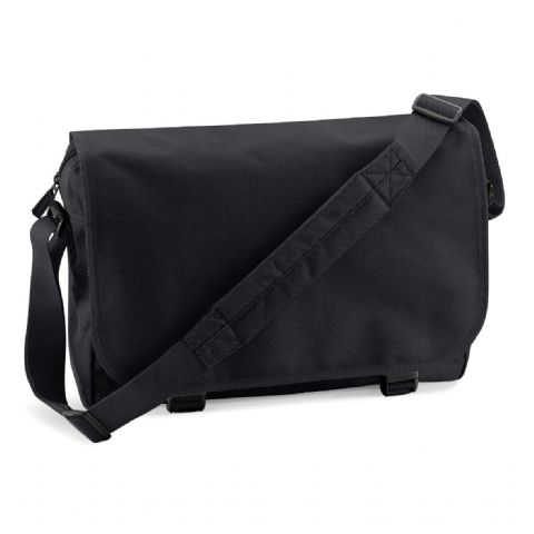 CHOOSE DESIGN - BLACK MESSENGER BAG